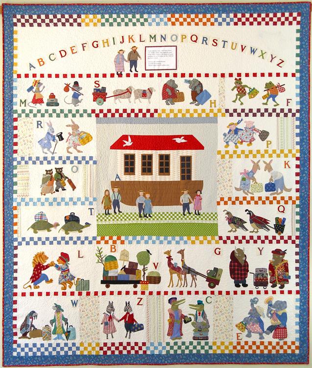 Welcome to American Jane Patterns BOM : noahs ark quilt - Adamdwight.com