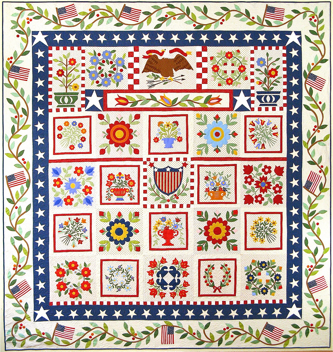 featured sampler and patchwork harmony quilting perfect magazine quilt in american